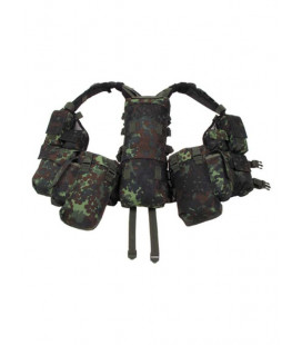 Gilet tactique Tactical camouflage Flecktarn BW