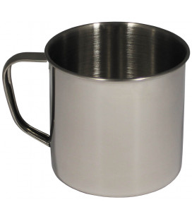 tasse, inox, 9,5 X 9 cm, 500 ml - Surplus militaire