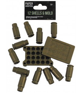PAPER SHOOTERS, coquille, 12 pièces - Surplus militaire