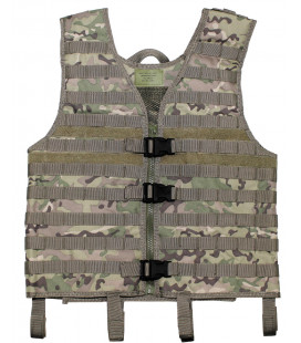 "Gilet tactique ""Molle light"", operation camou, syst. mod."