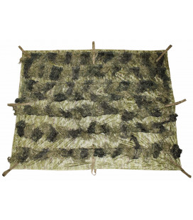 "Filet camouflage, ""Ghillie"", 2x1,5m, woodland - Surplus militaire"