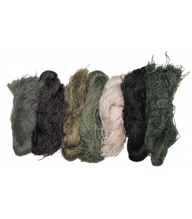 Ensemble de Fil camouflage Ghillie 7 couleurs