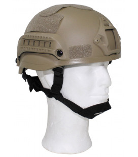 "Casque US, ""MICH 2002, coyote tan, ABS-plastique"