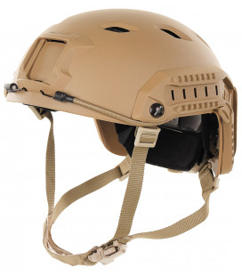 "Casque US, ""FAST-Parachut."" coyote tan, ABS-plastique - Surplus militaire"