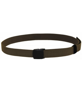 "Ceinture ""Tactical Elastic"", coyote tan, 3,7 cm - Surplus militaire"