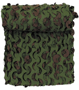 GB filet camouflage, 3 x 3 m, DPM, retardateur de flamme - Surplus militaire