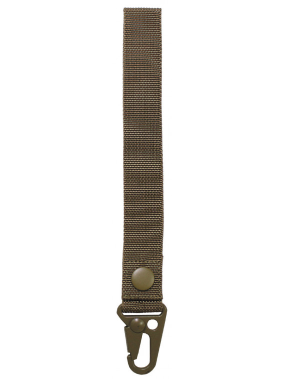 "porte-cles, ""Tactical II"", coyote tan, longueur 20 cm - Surplus militaire"