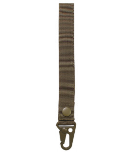 "porte-cles, ""Tactical II"", coyote tan, longueur 20 cm"