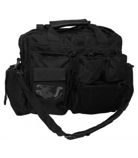 sac d`intervention, noir, avec sangles - Surplus militaire