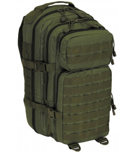 "Sac à dos militaire Assault I, ""Basic"", kaki 30L"