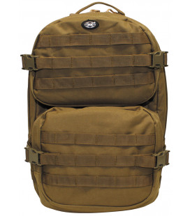 "Sac à dos militaire ""Assault II"" coyote tan"