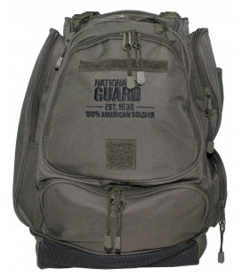 "sac a dos americain, ""NATIONAL GUARD"", kaki - Surplus militaire"