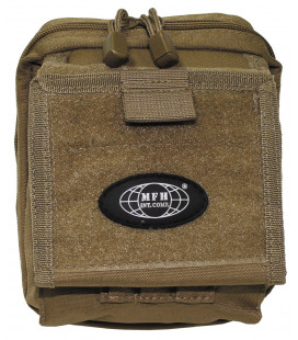 "porte-cartes, ""MOLLE"", coyote tan"
