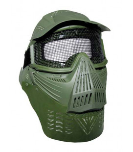 Masque de protection total pour Airsoft kaki - Surplus militaire