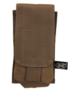 "Porte chargeur, simple ""MOLLE"", syst. mod.,coyote tan"
