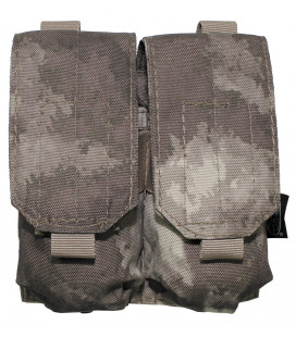 "porte chargeur, double, ""Molle"", HDT camou"