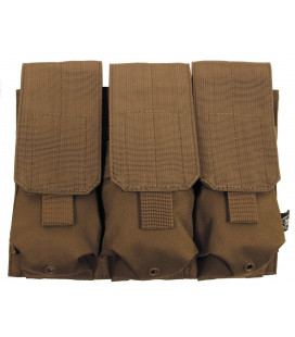 "porte chargeur, triple, ""Molle"", coyote tan - Surplus militaire"