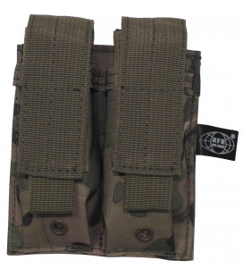 "porte chargeur, ""Molle"", double, operation camou"