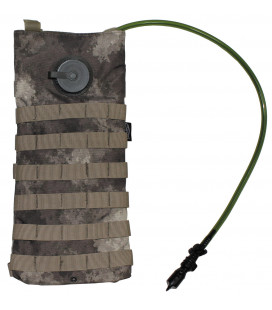 "Sac d'hydratation, ""MOLLE"", 2,5 l, HDT camou"