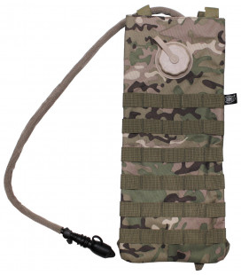 "Sac d'hydratation, ""MOLLE"",2,5 l, operation camou"