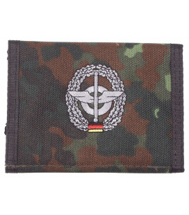 Portefeuille BW, BW camo, w/ins., logo G - Surplus militaire