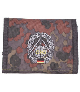 Portefeuille BW, BW camo, w/ins., logo I - Surplus militaire