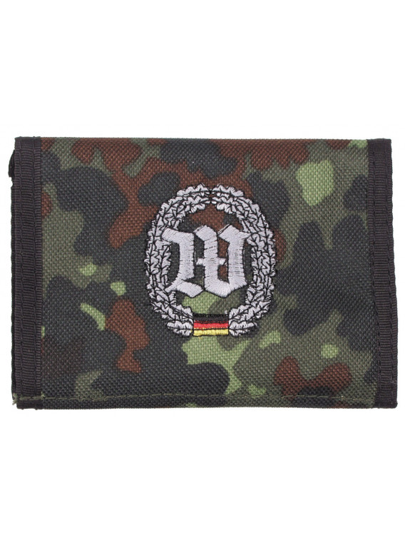 Portefeuille BW, BW camo, w/ins., logo N - Surplus militaire