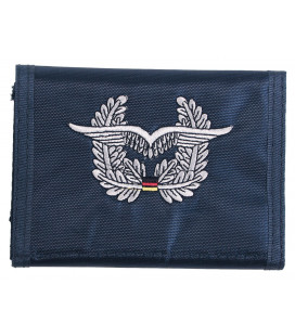 Portefeuille BW, bleu, w/insigne US air Force