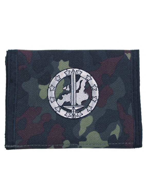 Portefeuille BW, BW camo, w/ins logo Eurocorp - Surplus militaire