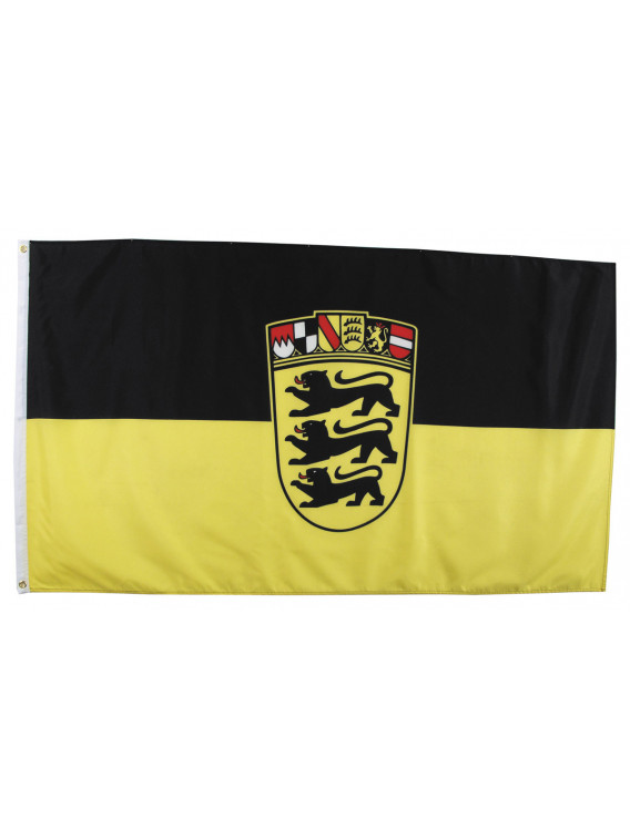 Drapeau, Bade-Wurtemberg, Polyester, 90x150 cm - Surplus militaire
