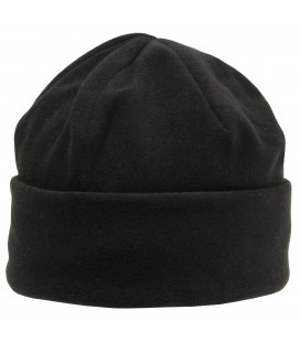 Bonnet polaire, noir, doublure thinsulate