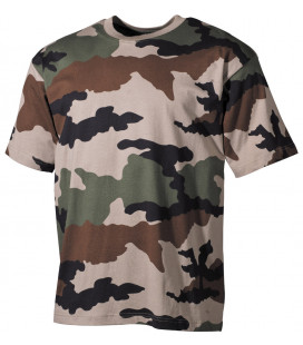 Tee-shirt militaire US Classique camouflage CCE