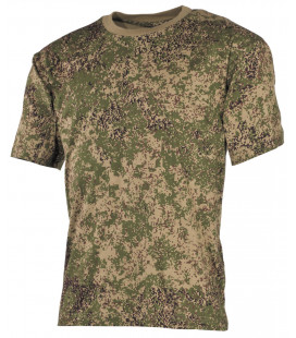 Tee-shirt militaire US Classique camouflage russe digital