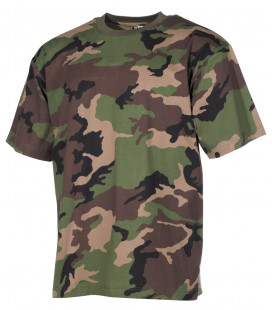 Tee-shirt militaire US Classique camouflage M 97 SK