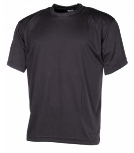 "Tee-shirt militaire ""Tactical"" noir"