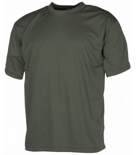 T-shirt militaire Tactical kaki