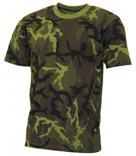 "Tee-shirt militaire US ""Streetstyle"" camouflage M 95 CZ"