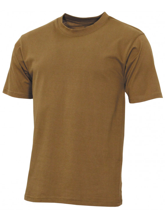 """US Tee-shirt, """"Streetstyle"""", coyote tan, 140-145 g/m² - Surplus militaire"""