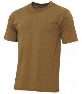 "US Tee-shirt, ""Streetstyle"", coyote tan, 140-145 g/m²"