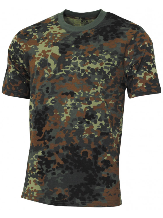 """US Tee-shirt, """"Streetstyle"""", BW camou, 140-145 g/m² - Surplus militaire"""