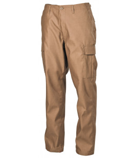 US Pantalon de combat, BDU, coyote tan, type tendance - Surplus militaire