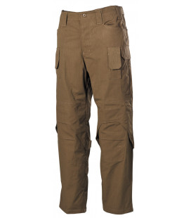 "Pantalon Treillis de combat ""Mission"" Ny/Co Rip Stop Coyote Tan"