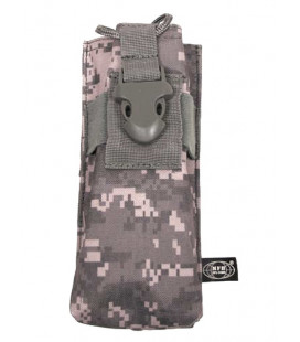 Pochette radio attache MOLLE camouflage AT-digital - Surplus militaire