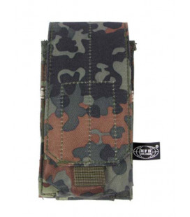 Porte chargeur camouflage BW Flecktarn attache Molle