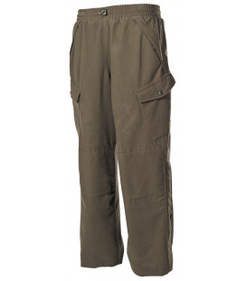 Pantalon Outdoor, Poly Tricot, plein air, silencieux, vert - Surplus militaire