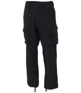 "Pantalon soft shell, ""Allround"", noir - Surplus militaire"