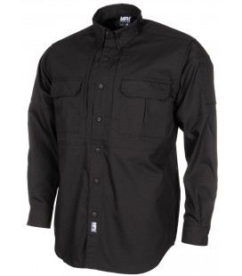 Chemise Outdoor Attack Teflon, Ripstop Noire